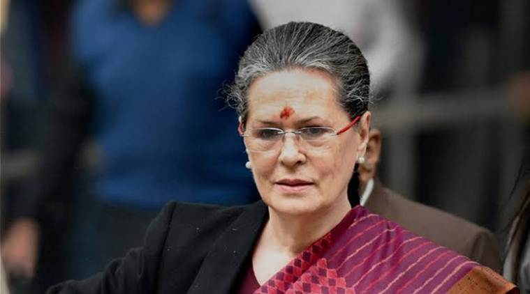 Sonia Gandhi - president of the Indian National Congress