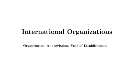 World Health Organization (WHO): Structure, Controversies