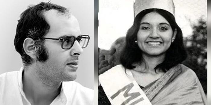Sanjay Gandhi and Menka Gandhi