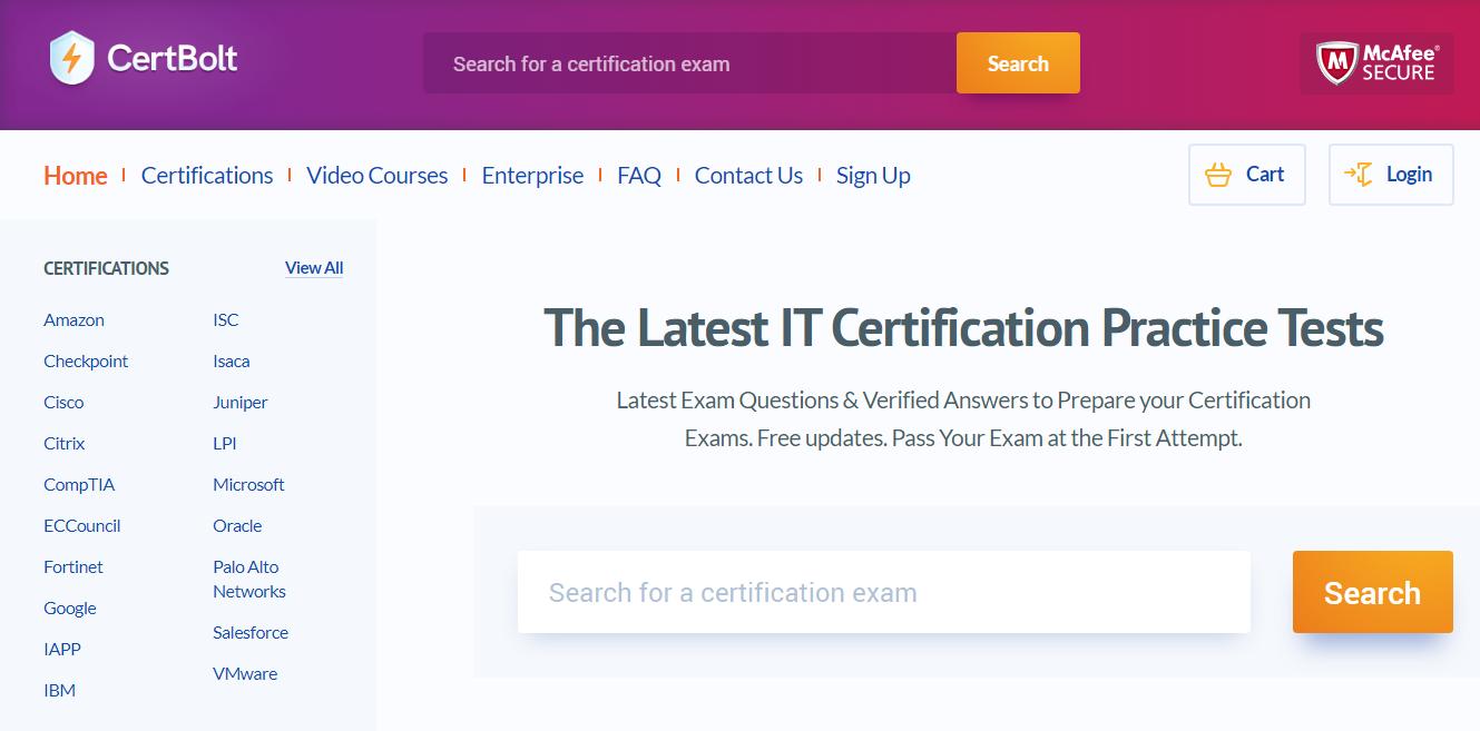 Certbolt Microsoft Exam