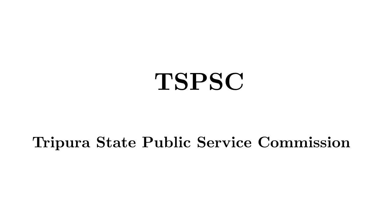 Tripura State Public Service Commission
