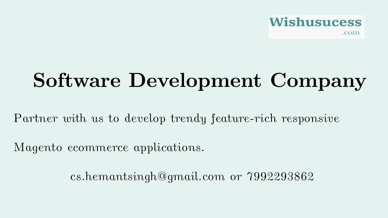 Magento Developer in Bangalore