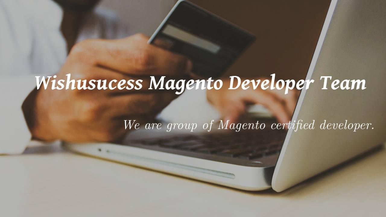 Wishusucess Magento Developer Team