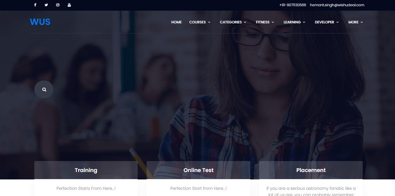 Wishusucess Online Examination System