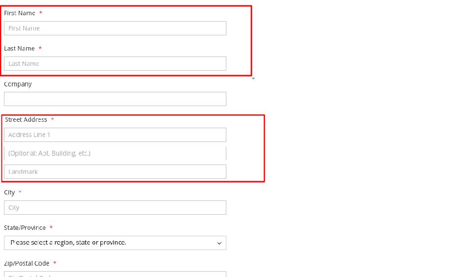 Override Checkout Street Address Placeholder-min