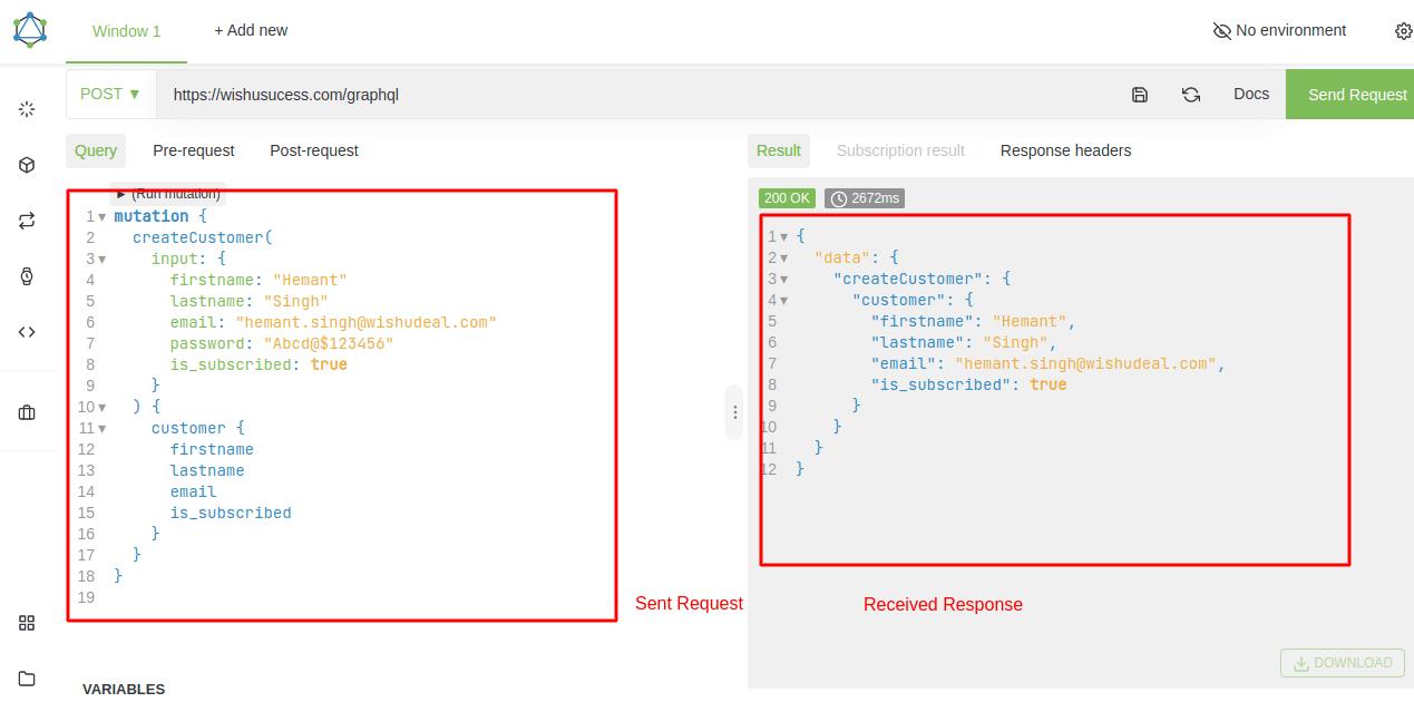 Create Customer in GraphQL Magento 2